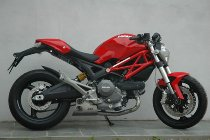 QD Exhaust kit ´ex-box´ series, stainless-steel, with homologation - Ducati 696 Monster