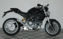 QD Exhaust kit ´ex-box´ series, stainless-steel, with homologation - Ducati 796 Monster