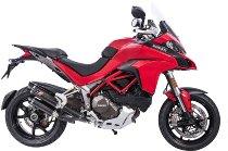 QD Auspuff-halb-komplettanlage ´Magnum´ Carbon, Euro 4 mit EG-ABE - Ducati 1200, 1260 Multistrada