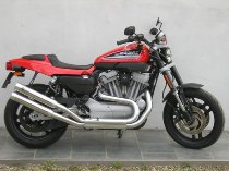 QD Auspuff Edelstahl chrom mit EG-ABE - Harley-Davidson 1200 XR