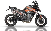QD Cross over racing without catalyst stainless-steel - KTM 790 Duke