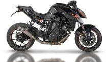 QD Cross over racing without catalyst, stainless-steel - KTM 1290 Superduke 2015-2019