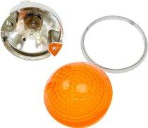 Aprilia Indicator, front, orange - 50/125/150 Mojito