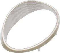 Aprilia Headlight cover, silver - 50/100 Scarabeo