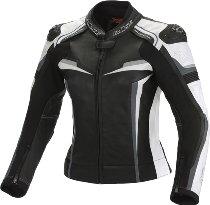Büse Mille leather jacket ladies black/white short 20