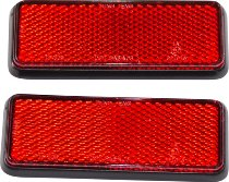Büse Reflector pair, red, square NML
