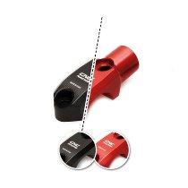 CNC Racing Brembo Brems-/Kupplungszylinderklemme, mit Spiegelhalter, M8, links