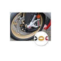 CNC Racing Vorderradmutter, M25x1,25 - Ducati, MV Agusta