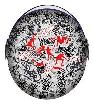 Grex G1.1 Artwork Sport Grafitti Jethelm