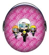 Grex G1.1 Artwork Lady Biker Jethelm