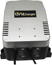 Multicharger 2, 2x12V 2AH, Automatic Charger 9 stage