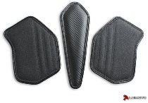 Luimoto Fuel tank pads, black - Ducati Panigale V4 1100