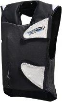 Helite GP-Air 2.0 Airbagweste schwarz/weiß, XL-L
