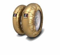 Capit tire warmer ´Suprema Spina´ - vorne 90/17 + hinten 120/16-17 - gold