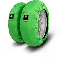 Capit Reifenwärmer ´Suprema Spina´ - vorne <125-17 + hinten <180/55-17 - grün