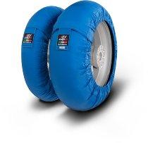 Capit Reifenwärmer ´Suprema Spina´ - vorne <125-17 + hinten >200/55-17 - blau