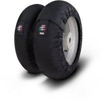Capit tire warmer ´Mini Spina´ - vorne 90/90-10 + hinten 90/90-10 - schwarz