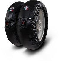 Capit tire warmer ´Suprema Vision´ - vorne 90/17 + hinten 120/16-17 - carbon