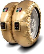 Capit Reifenwärmer ´Suprema Vision´ - vorne <125-17 + hinten <180/55-17 - gold