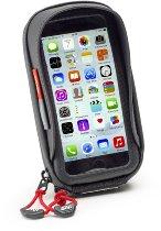 GIVI I-Phone 6/Samsung Galaxy A5 Smartphone Tasche mit Sonnenschutz und Spiegel-Halterung