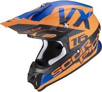Scorpion VX-16 Air X-Turn Crosshelm