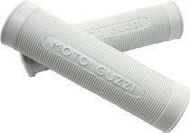 Ariete Moto Guzzi Handle grip-kit 24/27mm, white - GTV, Falcone, Ercole, Airone...