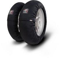 Capit Reifenwärmer ´Smart Spina´ - vorne 120/17 + hinten <200/55-17 - schwarz