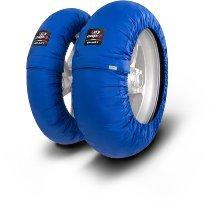 Capit Reifenwärmer ´Smart Spina´ - vorne 120/17 + hinten <200/55-17 - blau