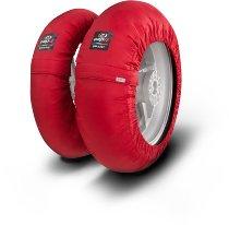Capit Reifenwärmer ´Smart Spina´ - vorne 120/17 + hinten <200/55-17 - rot