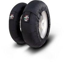 Capit Reifenwärmer ´Maxima Leo´ - vorne <125-17 + hinten <180/55-17 - schwarz