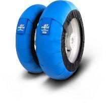 Capit Reifenwärmer ´Maxima Leo´ - vorne <125-17 + hinten <180/55-17 - blau