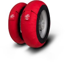 Capit tire warmer ´Maxima Spina´ - vorne <120-17 + hinten <180/55-17 - rot
