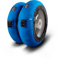 Capit tire warmer ´Maxima Vision´ - vorne <120-17 + hinten <180/55-17 - blau