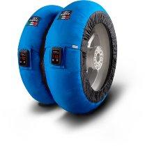 Capit Reifenwärmer ´Maxima Vision´ - vorne <120-17 + hinten >200/55-17 - blau
