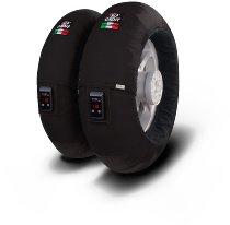 Capit tire warmer ´Fullzone Vision´ - vorne <125-17 + hinten >200/55-17 - schwarz
