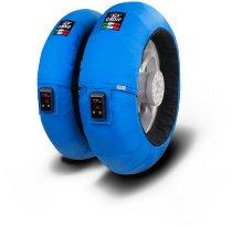 Capit tire warmer ´Fullzone Vision´ - vorne <125-17 + hinten >200/55-17 - blau