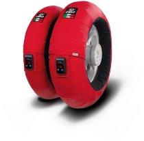 Capit tire warmer ´Fullzone Vision´ - vorne <125-17 + hinten >200/55-17 - rot