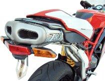 Zard exhaust system Underseat titanium racing Ducati 749 R