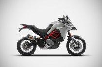 Zard Auspuff Slip-On Edelstahl/Titan/Carbon - Ducati Multistrada 950