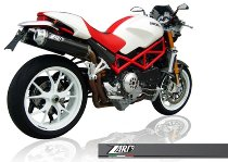 Zard exhaust system Top Gun slip-on 2-2, carbon racing Ducati Monster S4R /S4RS