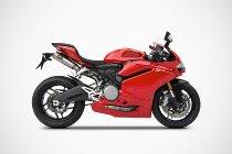 Zard exhaust system 2-1-2 titanium racing Ducati 959 Panigale