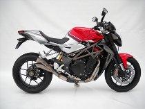 Zard exhaust system titan manifold inox V2 racing full kit 4-2-1-2 MV Agusta 1090 Brutale